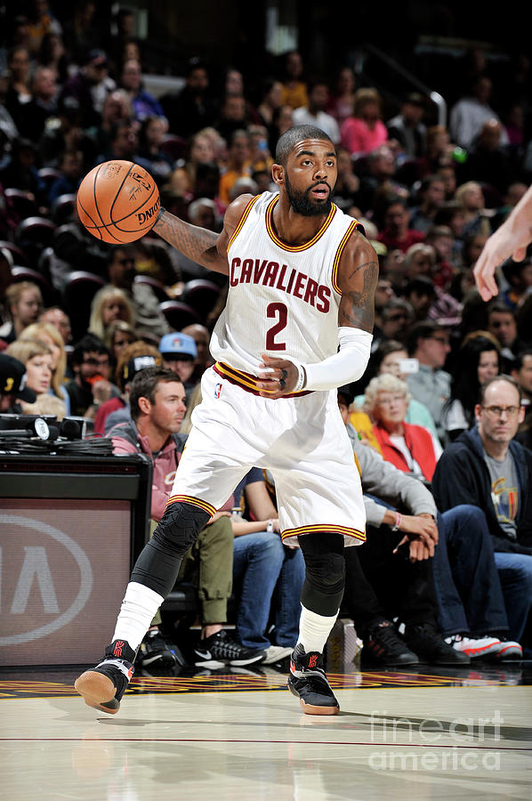 Kyrie Irving Photograph by David Liam Kyle