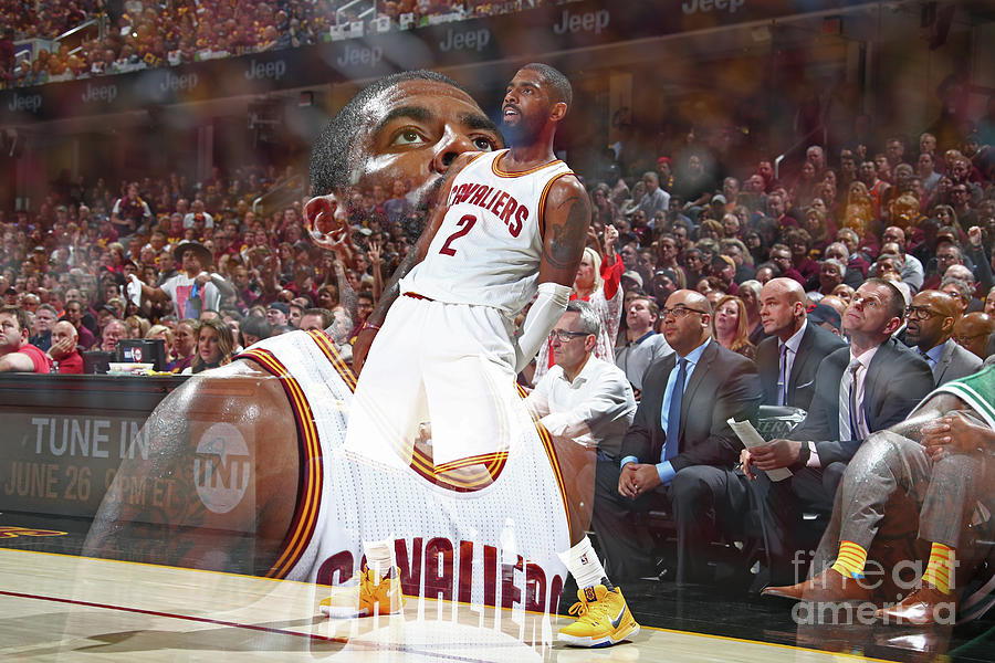 Kyrie Irving Photograph by Nathaniel S. Butler