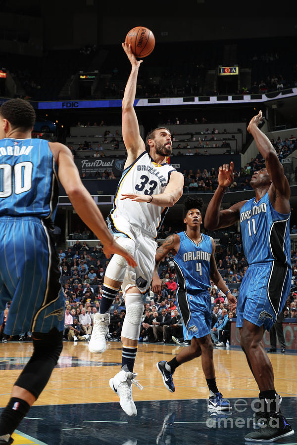 Marc Gasol Photograph by Joe Murphy