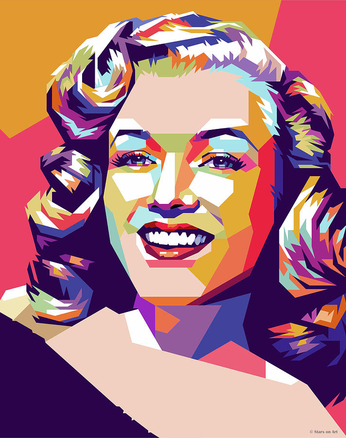 Marilyn Mixed Media - Marilyn Monroe by Stars on Art