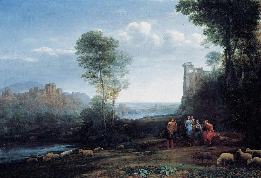 Pastoral Landscape by Claude Lorrain