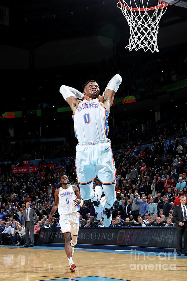 Russell Westbrook Photograph by Zach Beeker