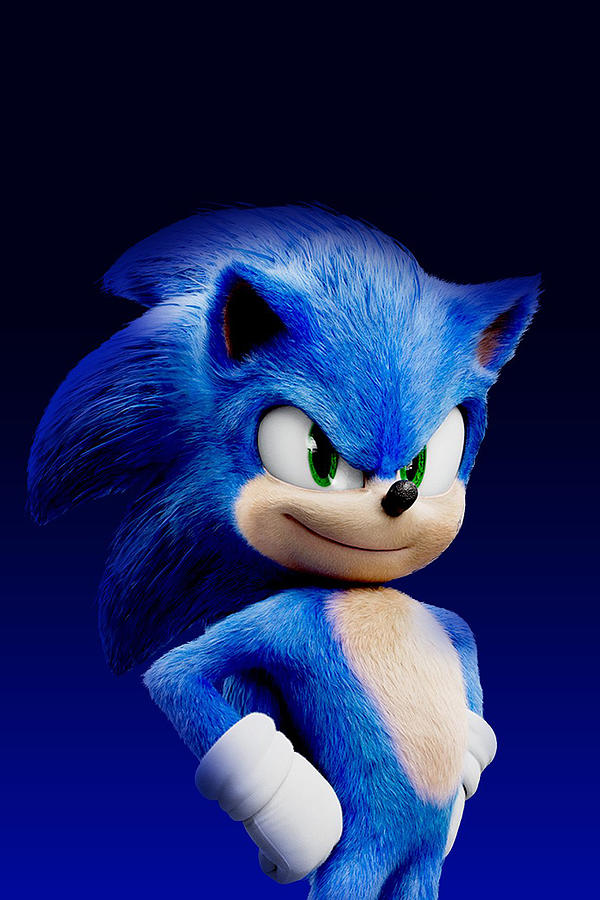Sonic The Hedgehog 2020 Digital Art By Geek N Rock