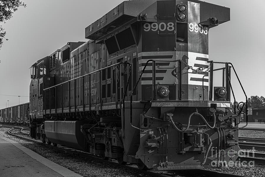 9908 Norfolk Southern - Charleston Train Yard Photograph