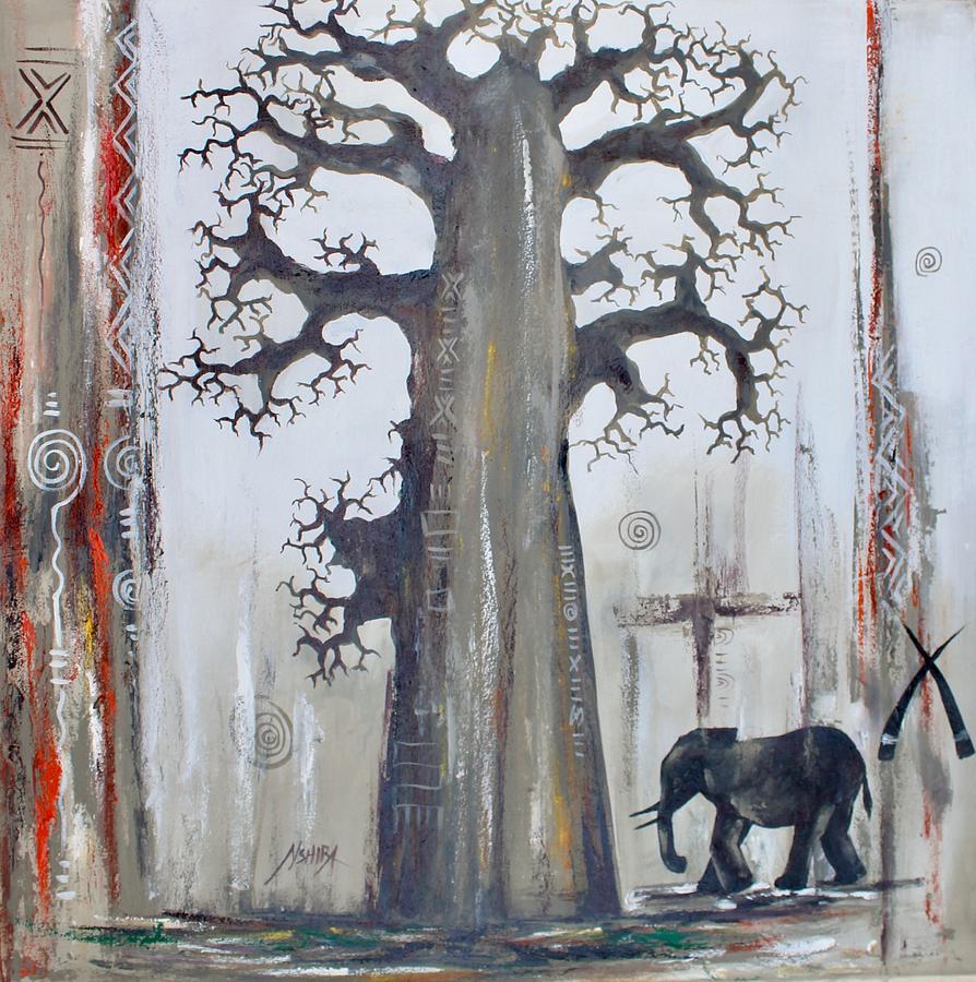 A Baobab Tree for a Baby Elephant by Daniel Akortia