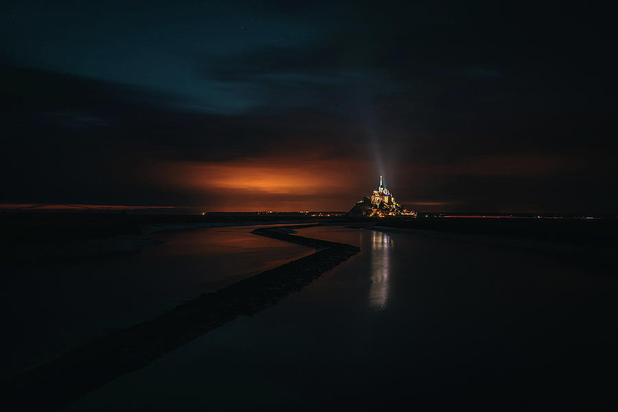 Landscape Photograph - A beacon of life by Andrei Dima
