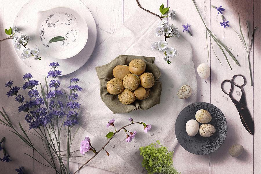 A Beautiful Breakfast Moment In Mind by Johanna Hurmerinta