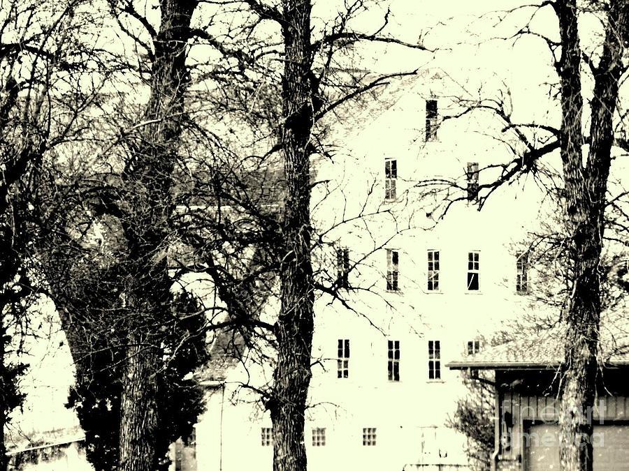 A Big White Barn Photograph