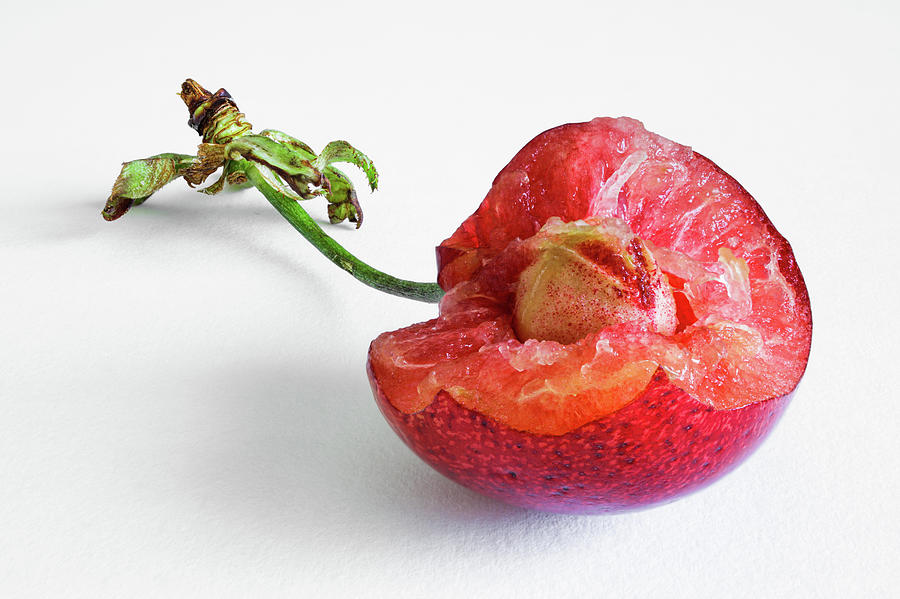 A Bite Of The Cherry Photograph