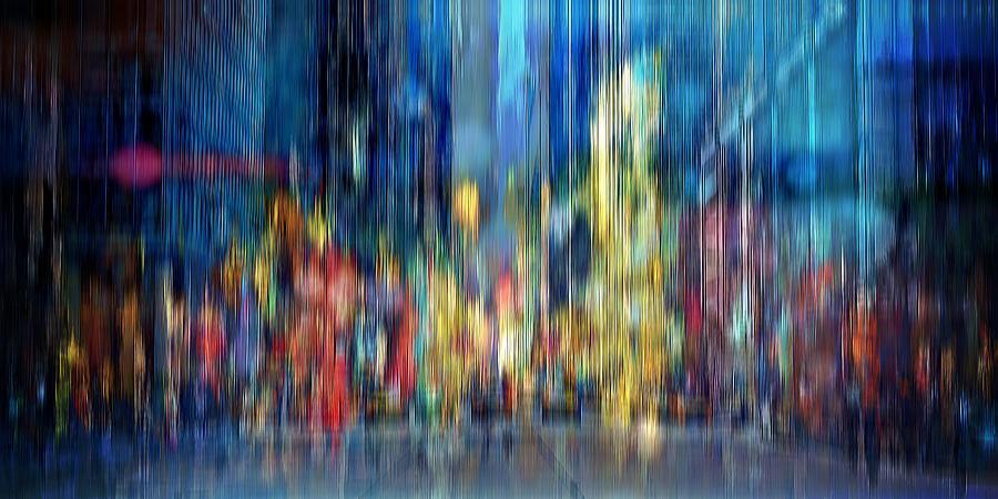 A Blur Of Memories Digital Art