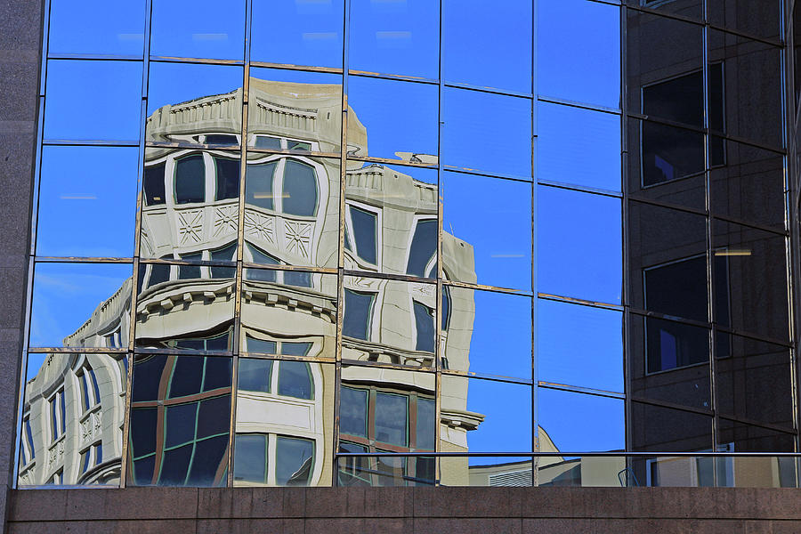 Building Photograph - A Building In A Building by Cora Wandel