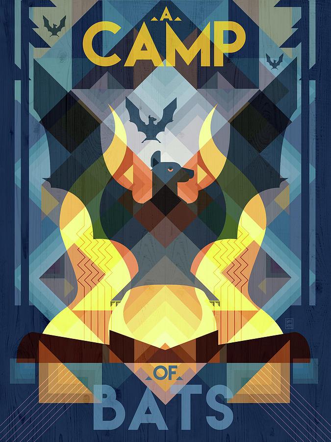 A Camp of Bats by Garth Glazier