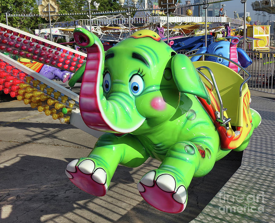 A Carousel Ride for Children by Yali Shi