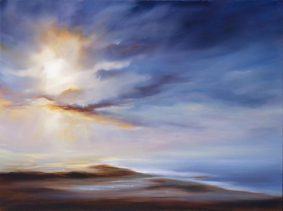 Ocean Painting - A Case of You by Cheryl Kline