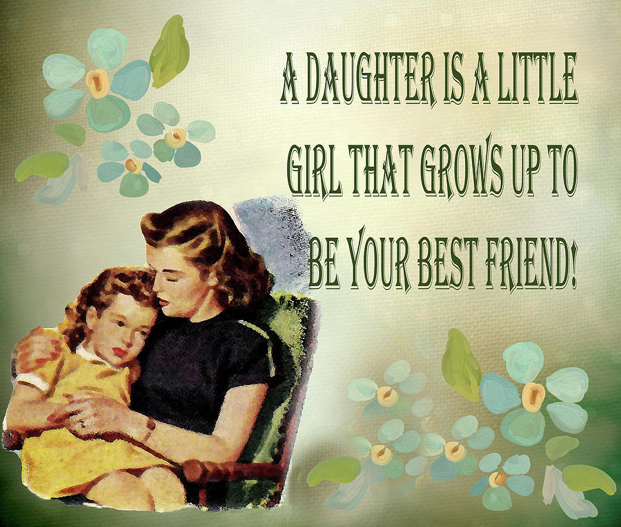 A Daughter Is A Little Girl by Floyd Snyder