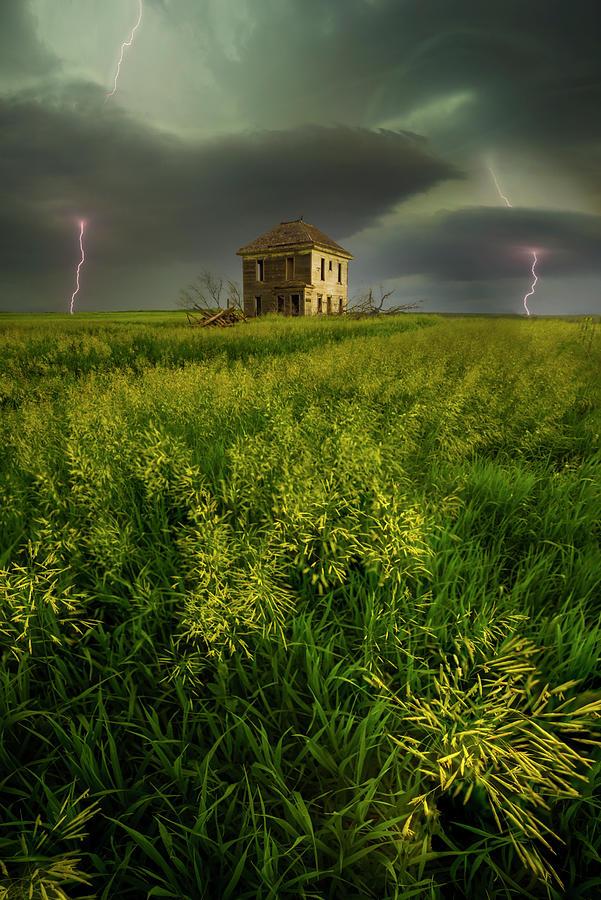 Lightning Photograph - A Different World by Aaron J Groen