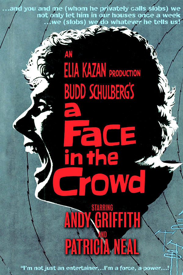 a Face In The Crowd Movie Poster 1957 Mixed Media
