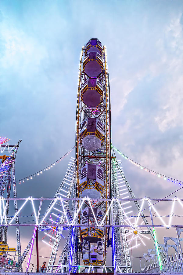 A Ferris Wheel in Pushkar by Kay Brewer