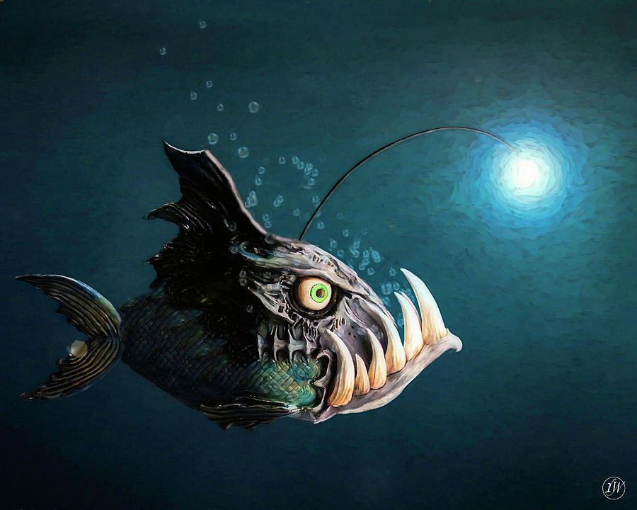 A Fish Fishing For Fish by Rick Wiles