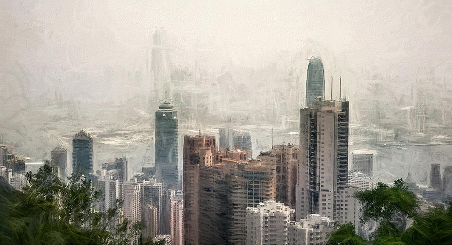 A Foggy Day In Hong Kong by PAUL COCO