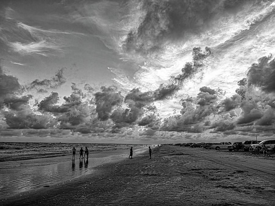 A Fun Day At The Beach Photograph