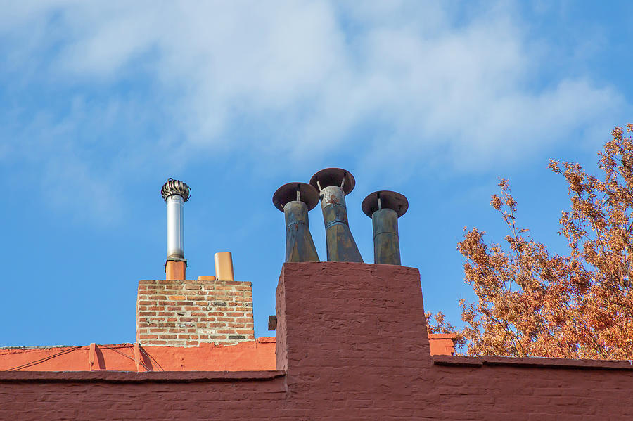 A Gaggle of Chimneys by Cate Franklyn