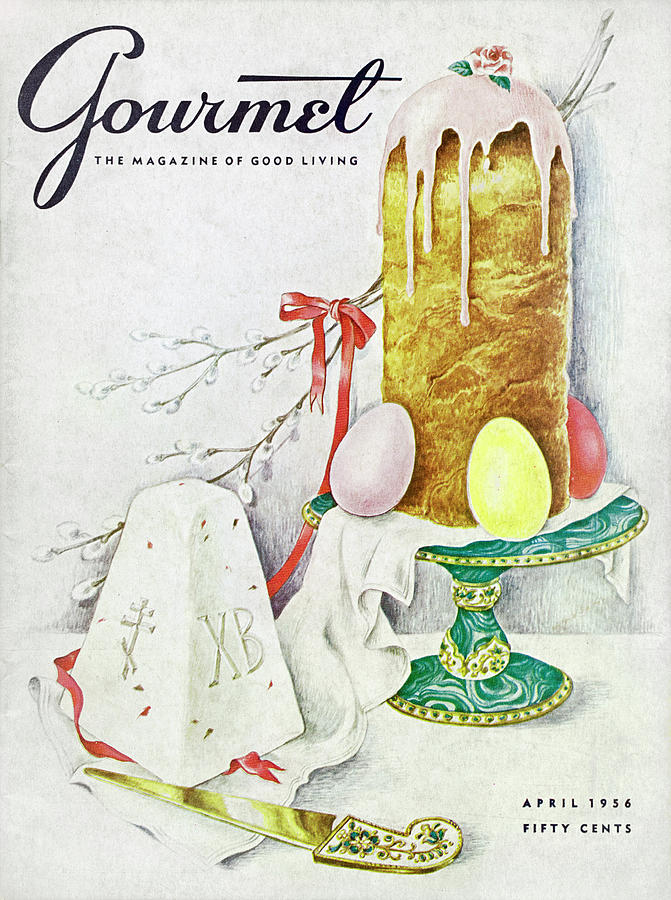 A Gourmet Cover Of A Cake Photograph by Hilary Knight