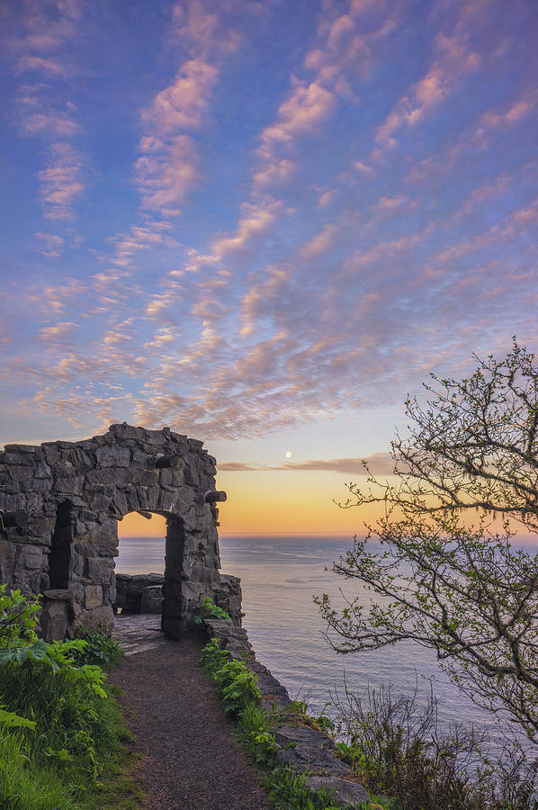 Oregon Photograph - A Lookout to the Sea by Darren White