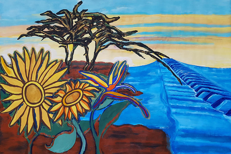 Bill Withers Painting - A Lovely Day by Rachel Natalie Rawlins