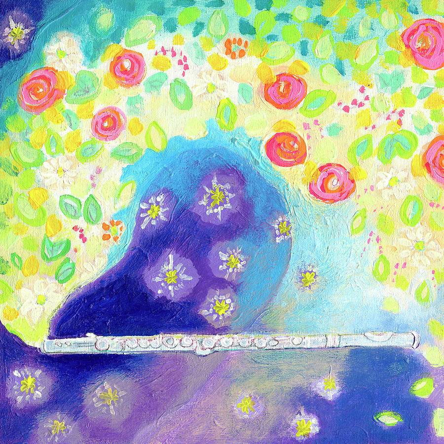 a Magical Flute Painting