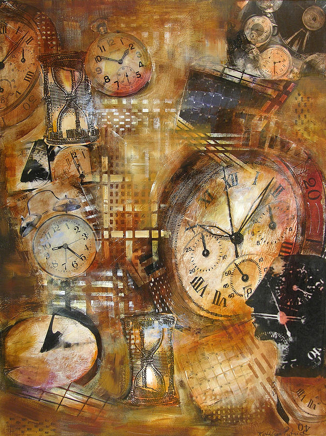 Time Painting - A Matter Of Time by Kathleen Patrick