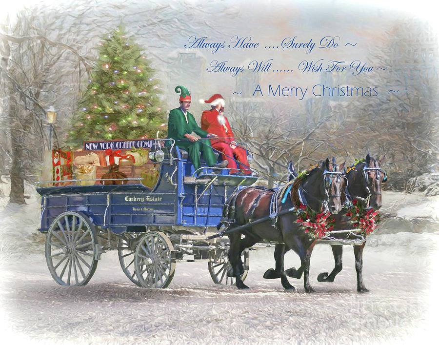 A New York Kinda Christmas with text by Trudi Simmonds