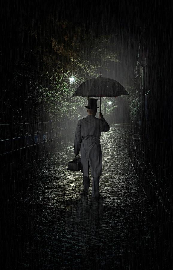 A night call by Jaroslaw Blaminsky