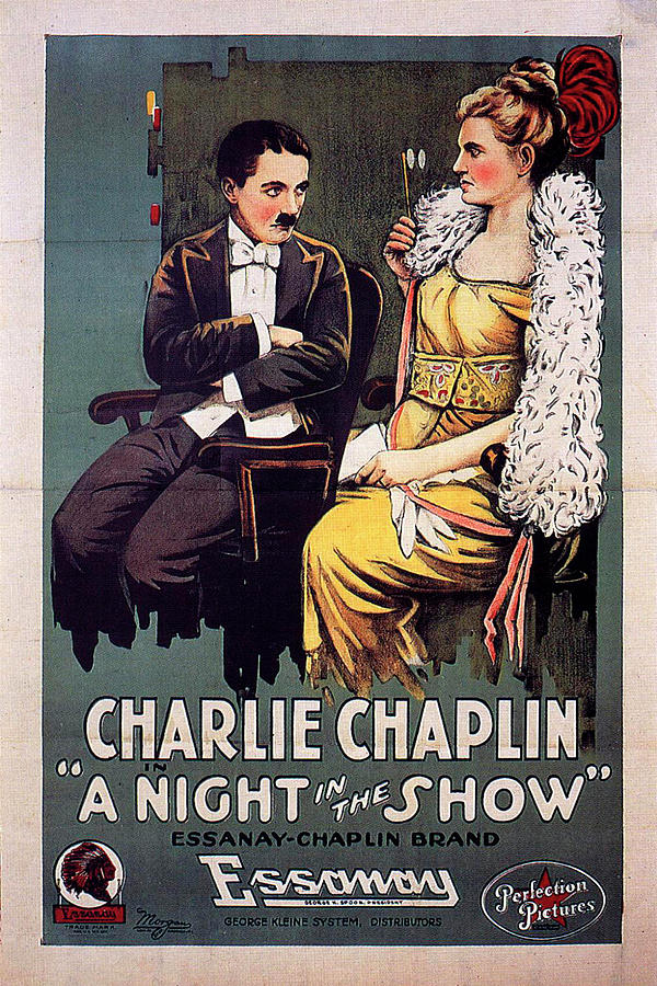 a Night In The Show 1915 Mixed Media