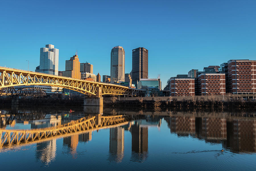 A Pittsburgh Reflection Photograph