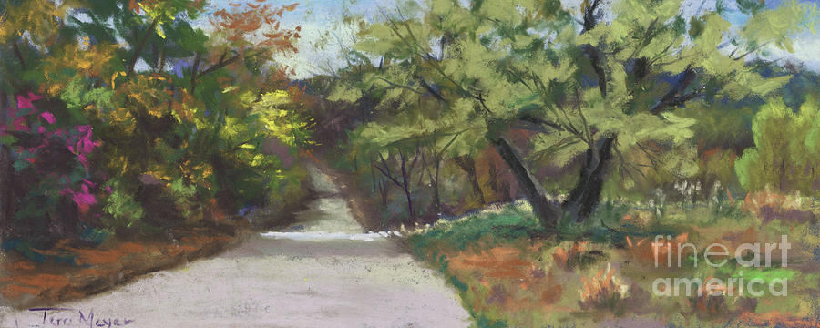 A Quiet Road Painting