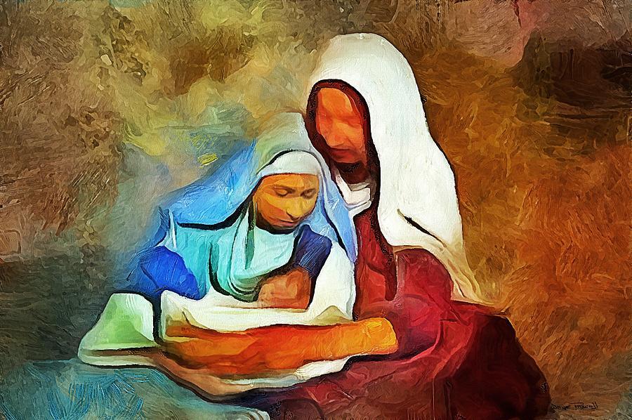 A SAVIOR IS BORN by Wayne Pascall