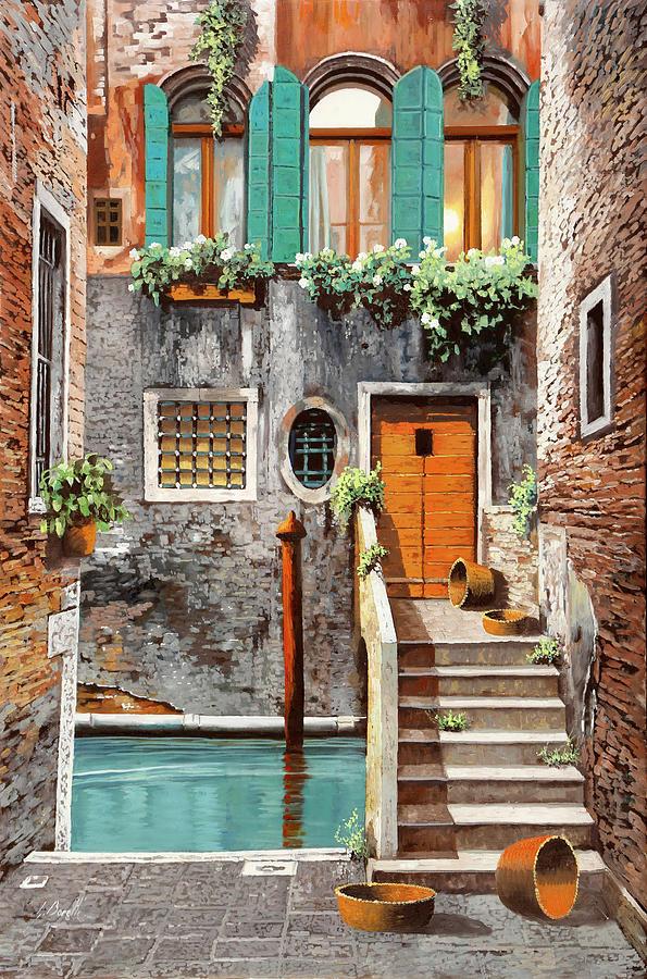 a spasso per Venezia Painting