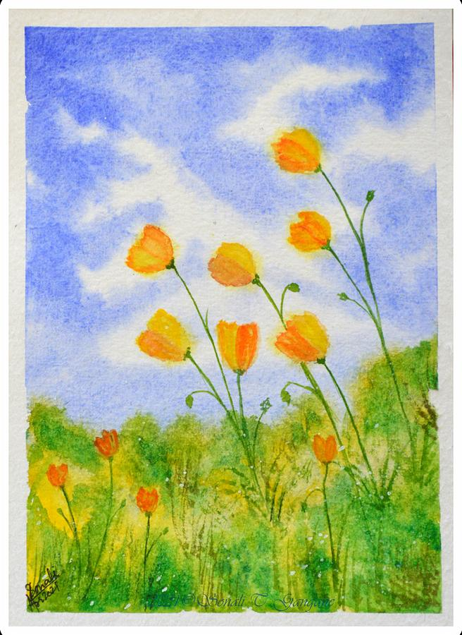A Spring Day Painting