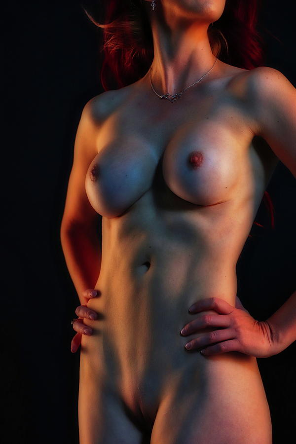 Figure Digital Art - A Study In Light and Form 6 by Dan Stone