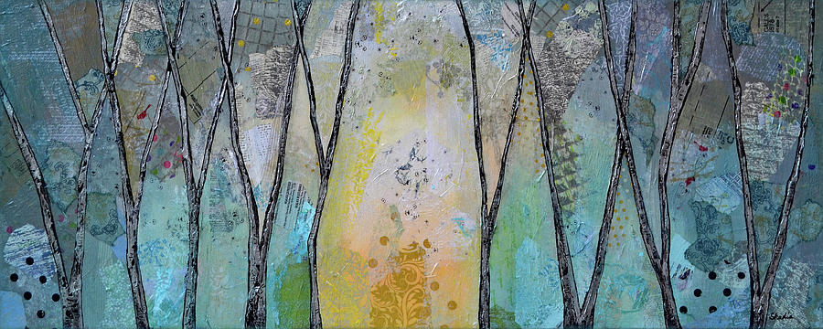 A Sunlit Path II Painting