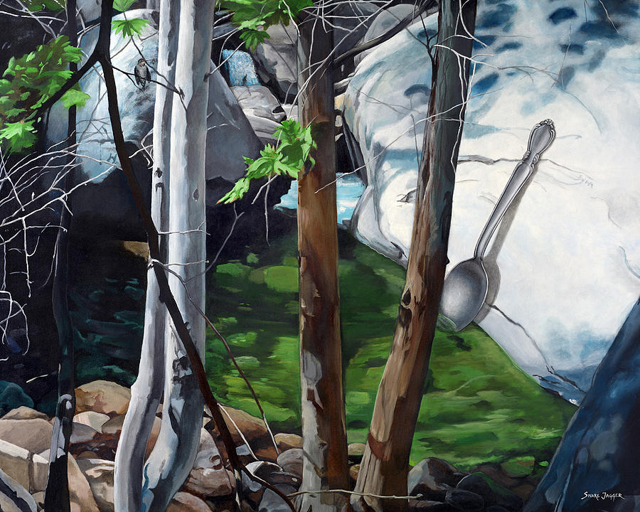 Landscape Painting - A Taste of Nature by Snake Jagger
