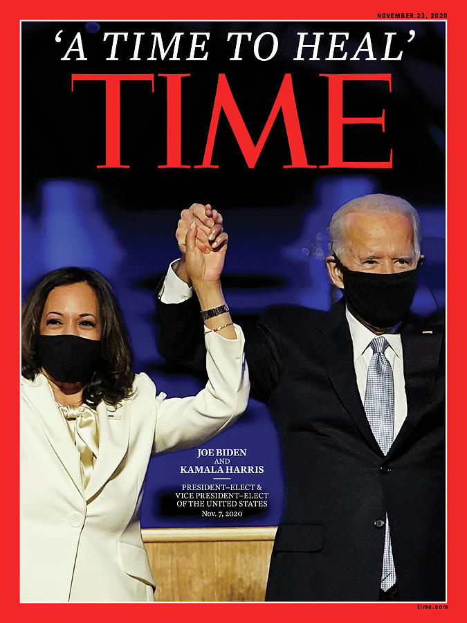 Joseph Biden Photograph - A Time To Heal by Time