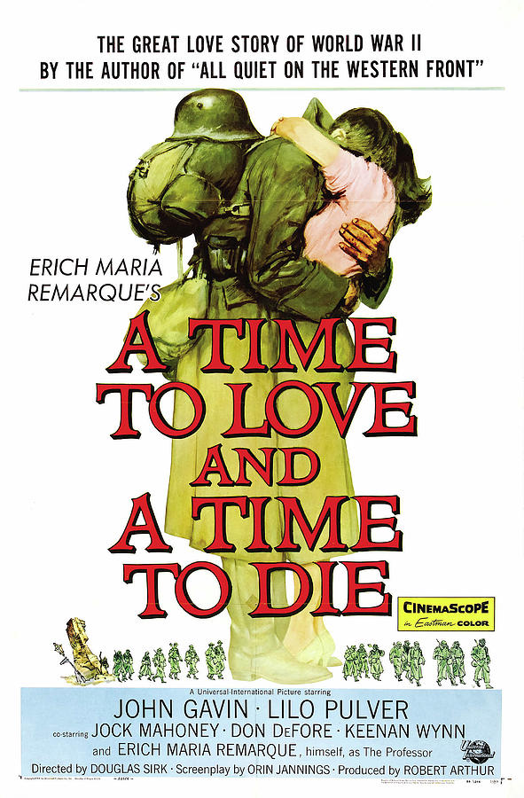 a Time To Love And A Time To Die, With John Gavin, 1958 Mixed Media