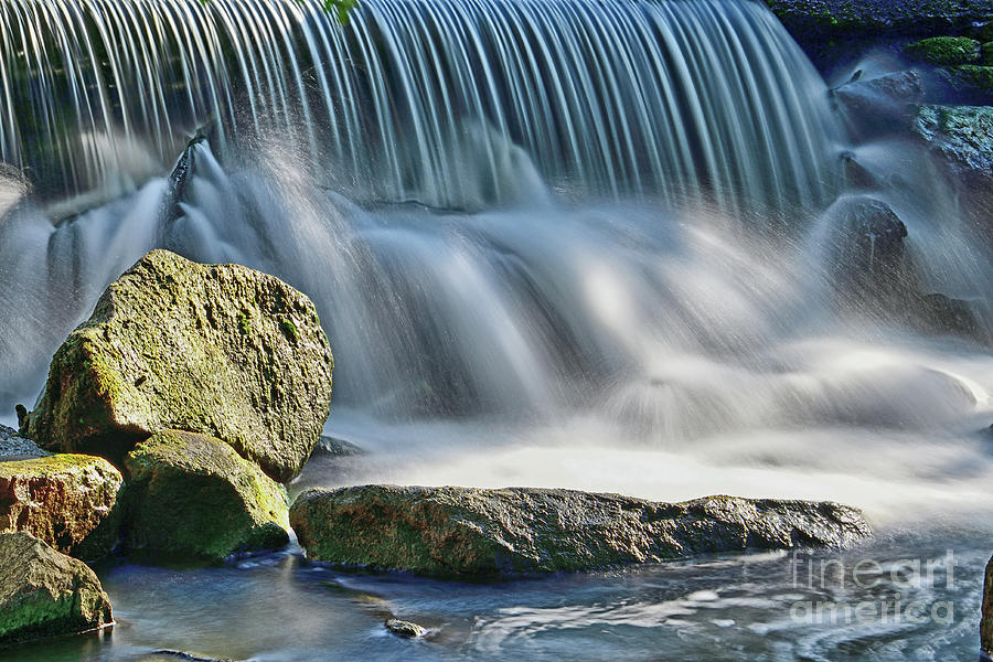 A Tiny Waterfalls Photograph