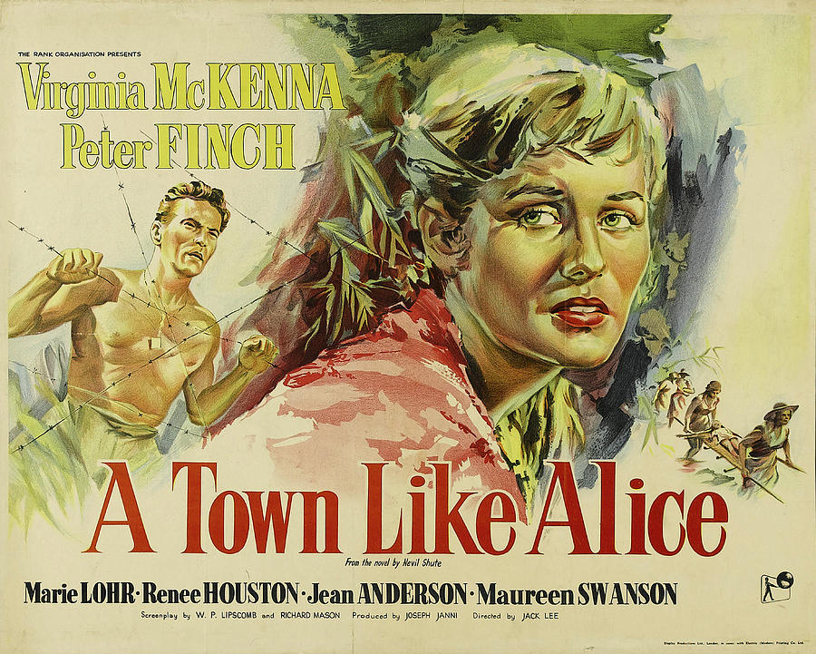 a Town Like Alice Poster 1956 Mixed Media