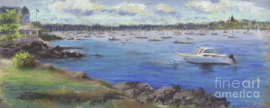 A View From Marblehead, Massachusetts, Painting