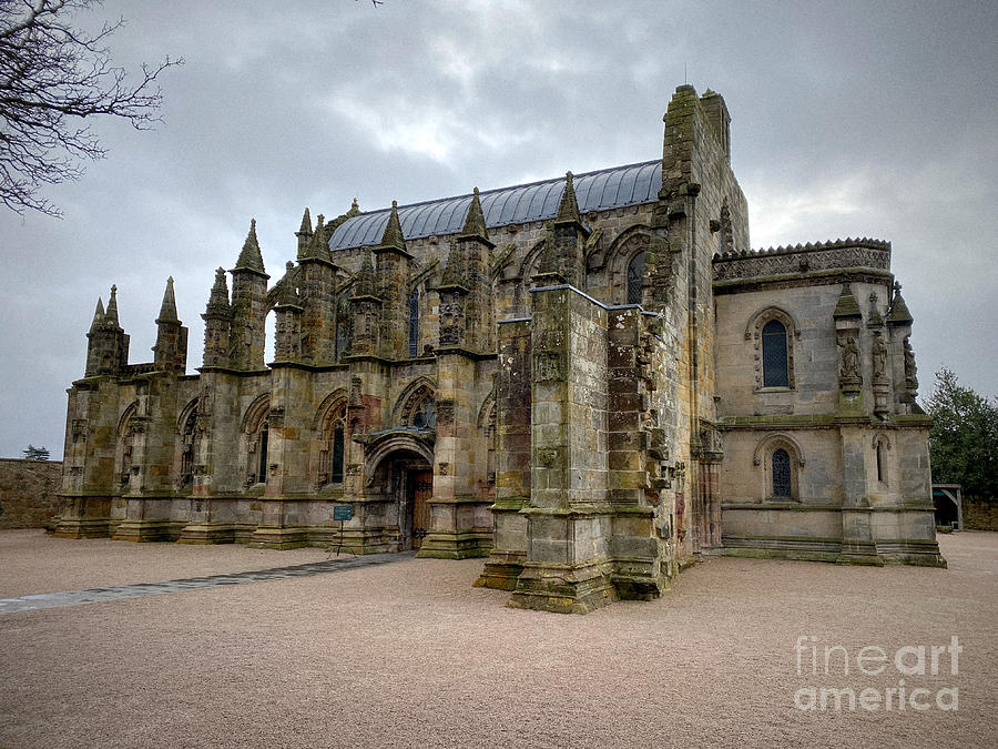 A View Of Rosslyn Chapel Photograph