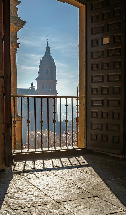 A View Of The Cathedral In Salamanca Spain Photograph