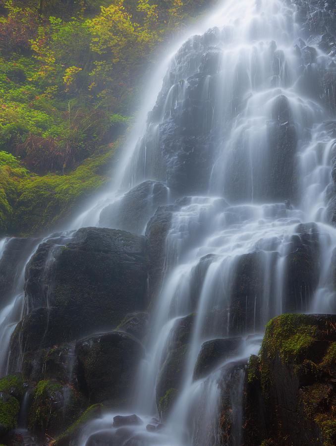A Waterfalls Breath Photograph
